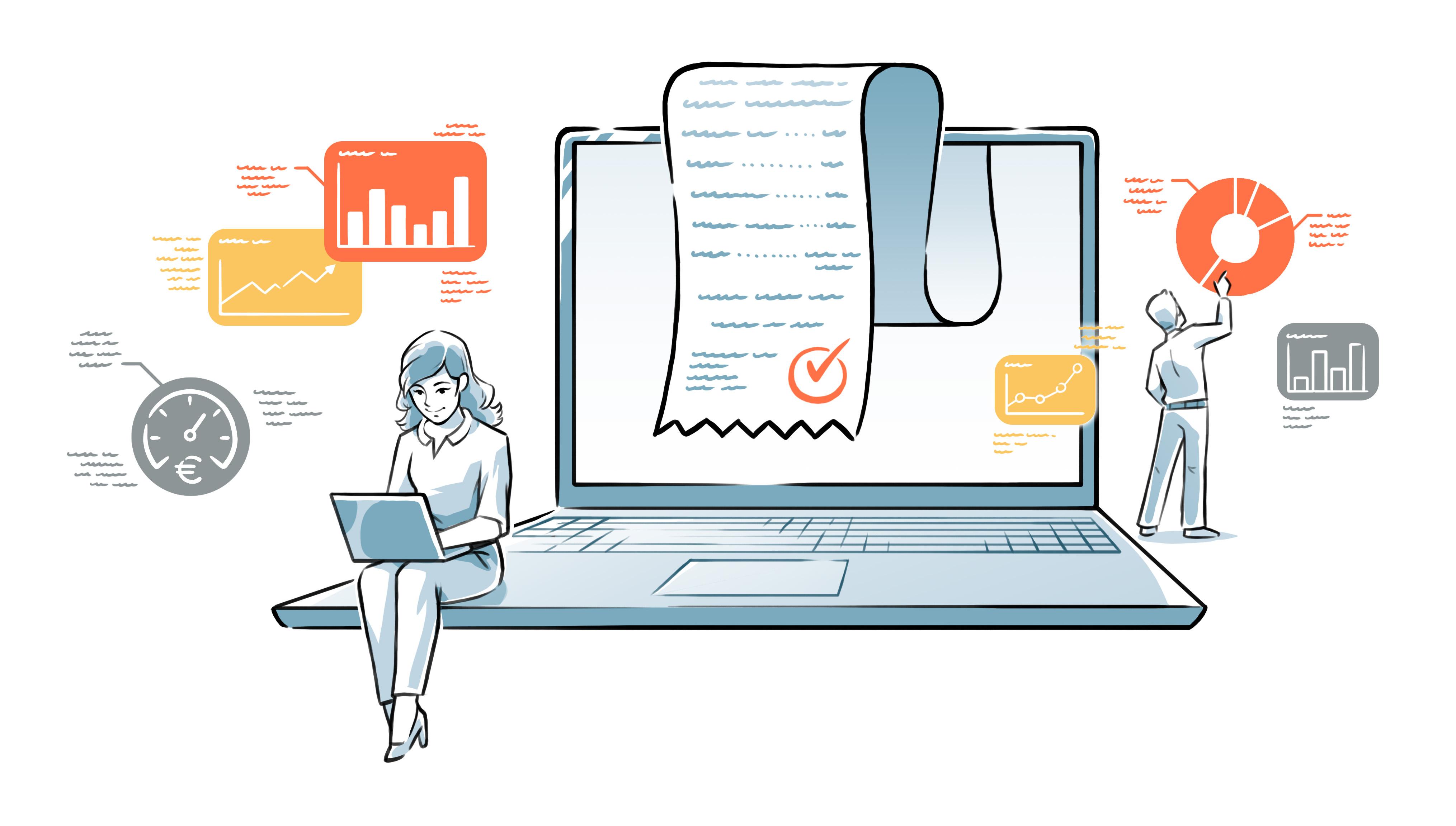 Screen & Invoice